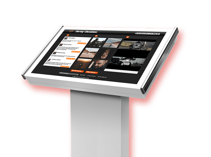 TINT display kiosk